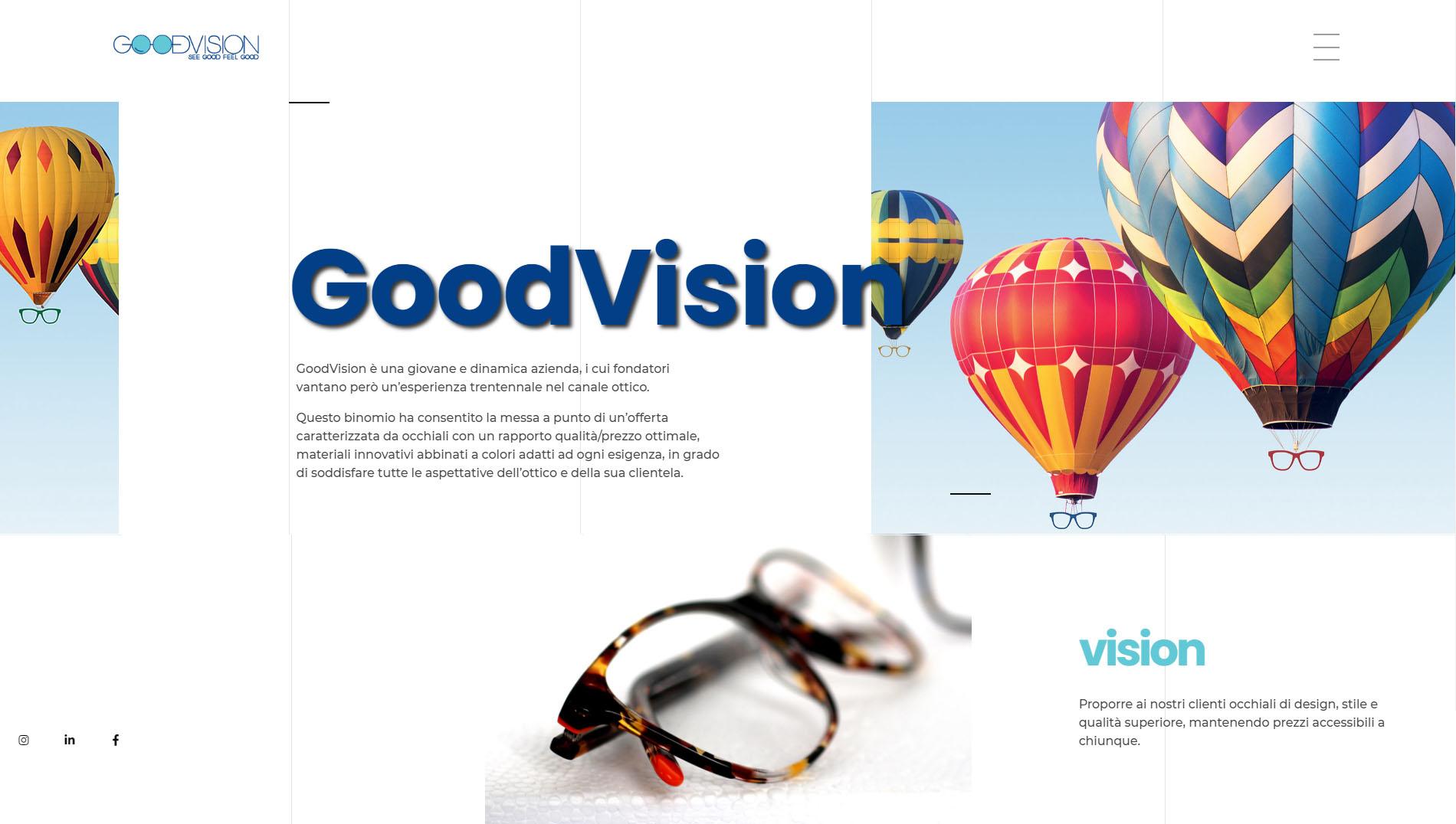 sito web wordpress - goodvision